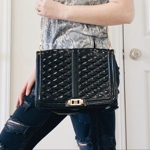 Rebecca Minkoff Jumbo Love Quilted Crossbody Bag